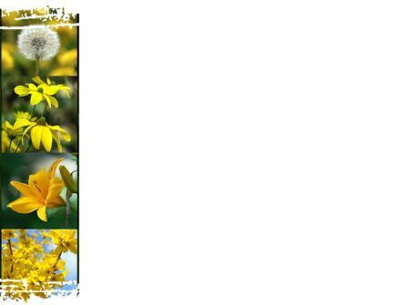 Flower Collage PowerPoint Template, Slide 3, 09702, Nature & Environment — PoweredTemplate.com