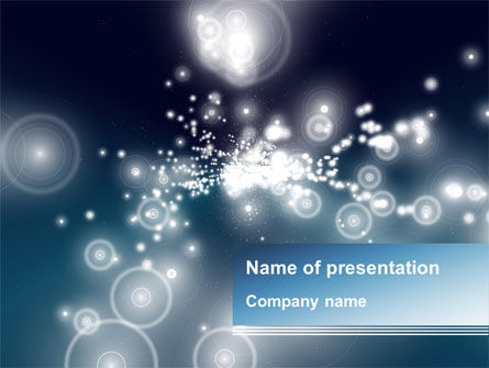 Sky Of Diamonds PowerPoint Template, 09703, Abstract/Textures — PoweredTemplate.com