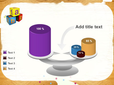 Cubes For Basic Education PowerPoint Template Slide 10