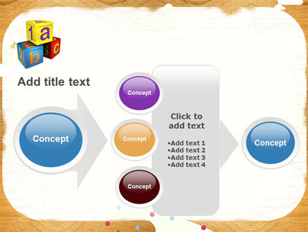 Cubes For Basic Education PowerPoint Template Slide 17