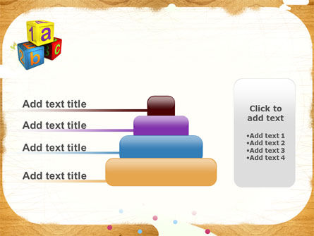 Cubes For Basic Education PowerPoint Template Slide 8