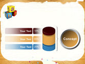 Cubes For Basic Education PowerPoint Template#11