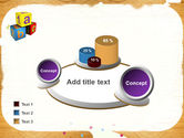 Cubes For Basic Education PowerPoint Template#16