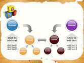 Cubes For Basic Education PowerPoint Template#19