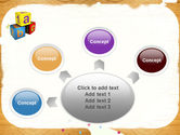 Cubes For Basic Education PowerPoint Template#7
