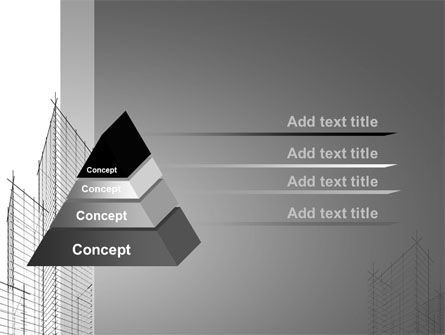Sketch Of Skyscraper PowerPoint Template Slide 12
