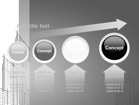 Sketch Of Skyscraper PowerPoint Template Slide 13