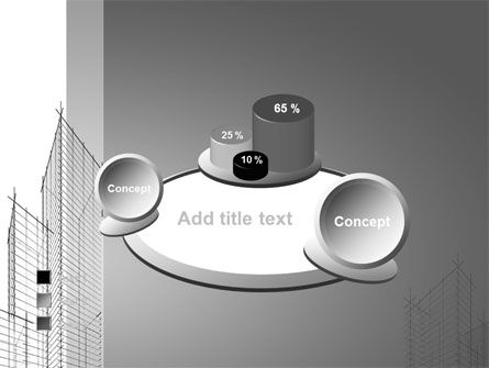 Sketch Of Skyscraper PowerPoint Template Slide 16