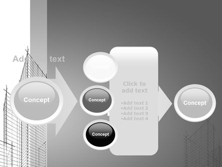 Sketch Of Skyscraper PowerPoint Template Slide 17
