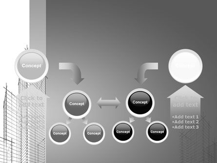 Sketch Of Skyscraper PowerPoint Template Slide 19