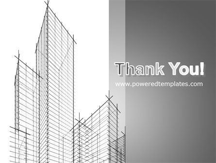 Sketch Of Skyscraper PowerPoint Template Slide 20