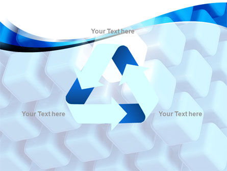 Blue Cubes Conglomerate PowerPoint Template Slide 10