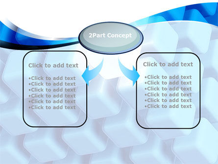 Blue Cubes Conglomerate PowerPoint Template Slide 4