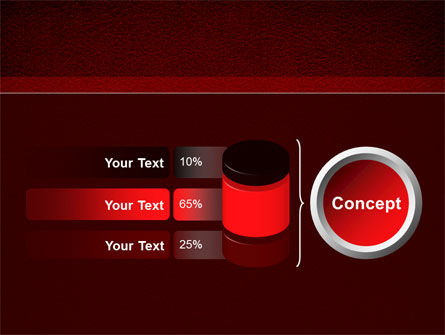 Red Silk Backing PowerPoint Template Slide 11
