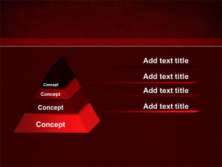 Red Silk Backing PowerPoint Template Slide 12