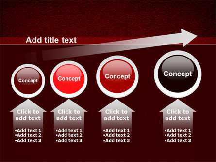 Red Silk Backing PowerPoint Template Slide 13