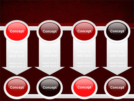 Red Silk Backing PowerPoint Template Slide 18