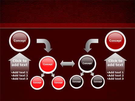 Red Silk Backing PowerPoint Template Slide 19