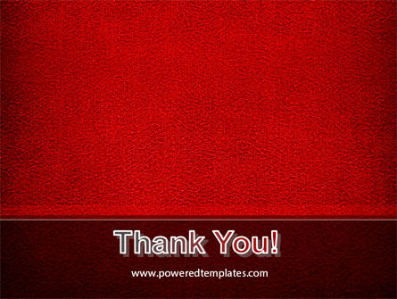 Red Silk Backing PowerPoint Template Slide 20