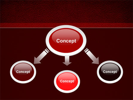 Red Silk Backing PowerPoint Template Slide 4
