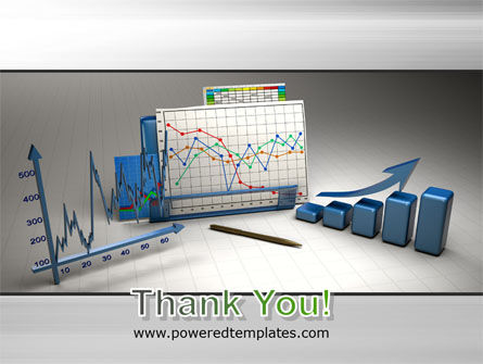 Three-Dimensional Charts PowerPoint Template Slide 20