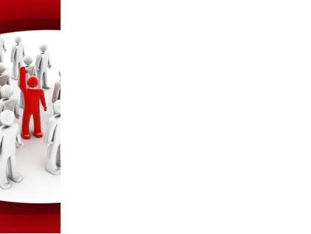 Outstanding Action PowerPoint Template, Slide 3, 09718, Business — PoweredTemplate.com