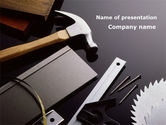 Utilities/Industrial: Tools and Hummer PowerPoint Template #09720