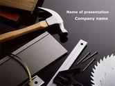 Utilities/Industrial: Werkzeuge und hummer PowerPoint Vorlage #09720
