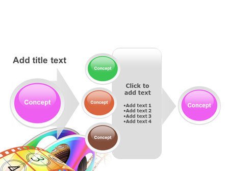 Flicks Reel PowerPoint Template Slide 17