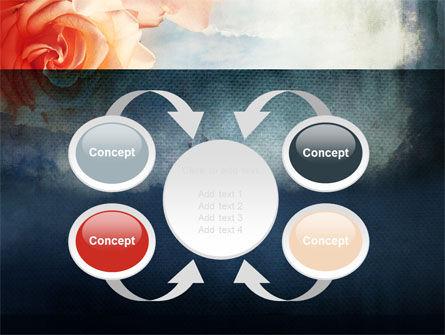 Tender Roses PowerPoint Template Slide 6