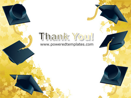 Mortarboard Ahead PowerPoint Template Slide 20