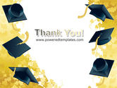 Mortarboard Ahead PowerPoint Template#20