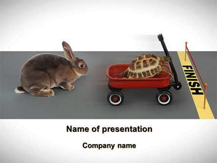 Technical Advances In Competition PowerPoint Template, 09729, Consulting — PoweredTemplate.com