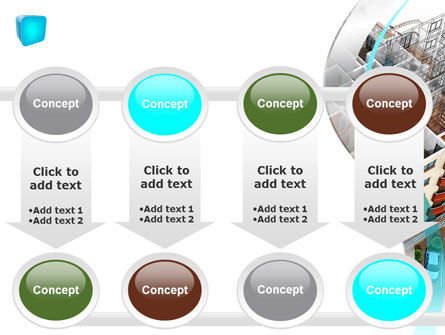 Model Of Apartment House PowerPoint Template Slide 18