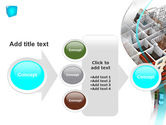 Model Of Apartment House PowerPoint Template#17