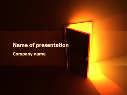 Consulting: Way In PowerPoint Template #09737