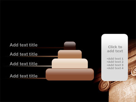 Ionic Capitals PowerPoint Template Slide 8
