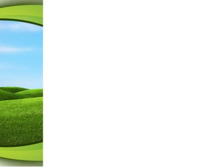 Green Fields PowerPoint Template, Slide 3, 09745, Nature & Environment — PoweredTemplate.com