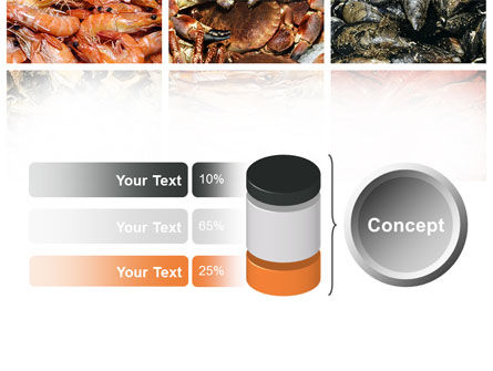 Shrimps And Crabs With Oysters PowerPoint Template Slide 11
