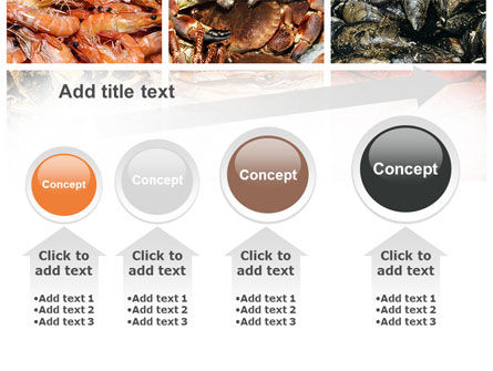 Shrimps And Crabs With Oysters PowerPoint Template Slide 13