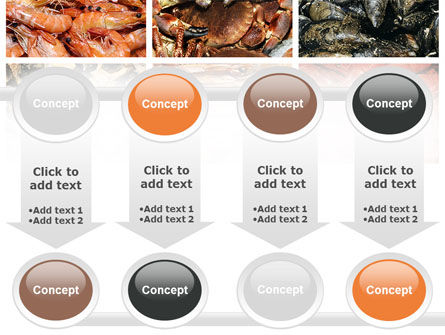 Shrimps And Crabs With Oysters PowerPoint Template Slide 18