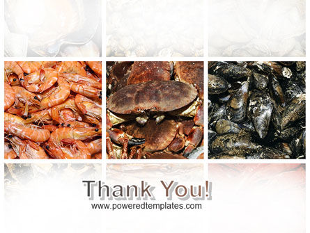 Shrimps And Crabs With Oysters PowerPoint Template Slide 20