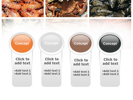 Shrimps And Crabs With Oysters PowerPoint Template Slide 5