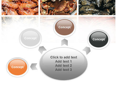 Shrimps And Crabs With Oysters PowerPoint Template Slide 7