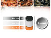 Shrimps And Crabs With Oysters PowerPoint Template#11