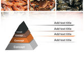 Shrimps And Crabs With Oysters PowerPoint Template#12