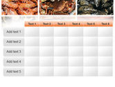 Shrimps And Crabs With Oysters PowerPoint Template#15