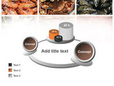 Shrimps And Crabs With Oysters PowerPoint Template#16