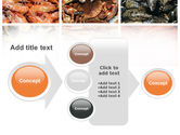Shrimps And Crabs With Oysters PowerPoint Template#17