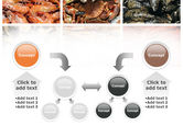 Shrimps And Crabs With Oysters PowerPoint Template#19